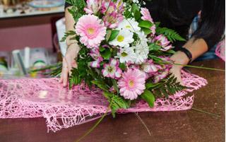 Vente de fleurs à Nice